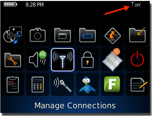 settings for blackberry Israel